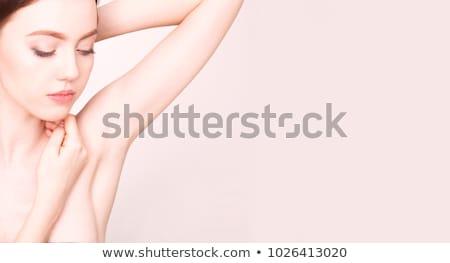Close-up of woman in pink bra Stock photo © wavebreak_media