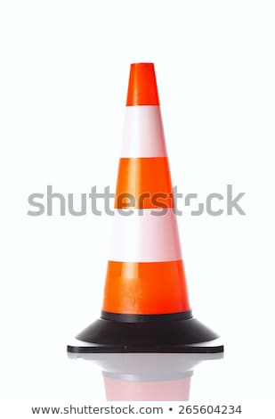 traffic cone with path Stock photo © ssuaphoto