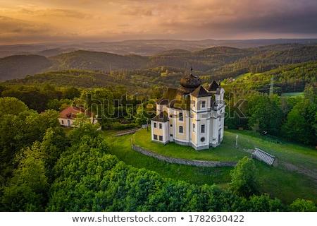 мак · горные · место · паломничество · высокий · холме - Сток-фото © capturelight