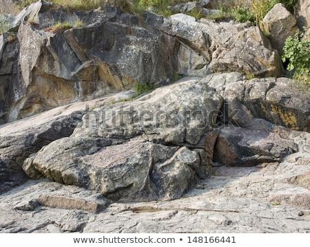 kaya · oluşumu · kaya · oluşum · bo - stok fotoğraf © prill