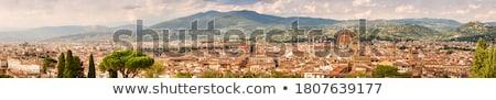 ストックフォト: ドーム · 大聖堂 · フィレンツェ · イタリア · 空 · 建物