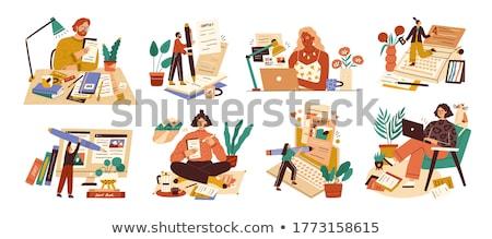 how to blog book concept stock photo © maxmitzu