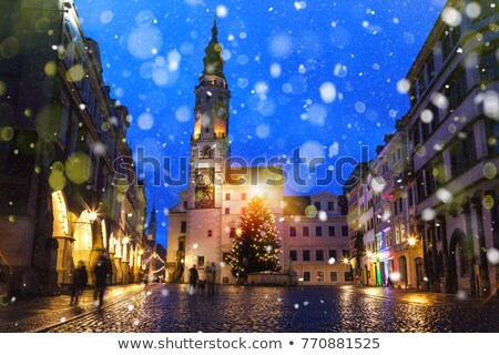 Goerlitz old tower from townhall  Stock photo © LianeM