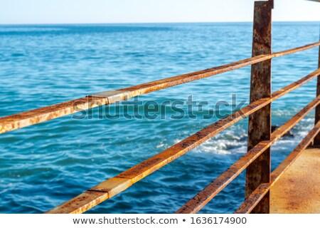 Paslı paslı doku Metal çelik Stok fotoğraf © skylight
