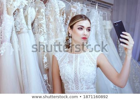 The beautiful bride in an interior  Stock photo © dashapetrenko