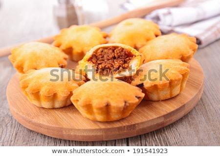 tielle, meat pie Stock photo © M-studio