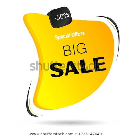 Limited Deal Yellow Vector Icon Design Stock photo © rizwanali3d