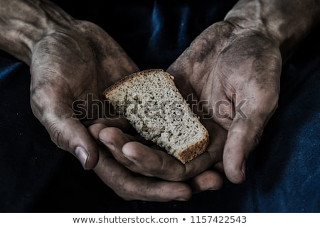 Hambre hambriento gordo comer todo mundo Foto stock © bonathos