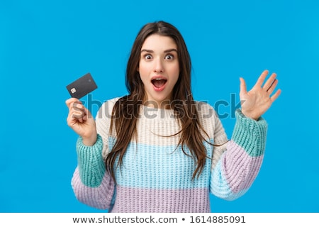 Take my cash card. Stock photo © stockyimages