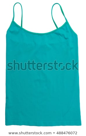 Teal camisole Stock photo © disorderly