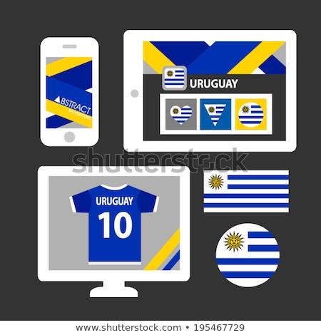 таблетка Уругвай флаг изображение оказанный Сток-фото © tang90246