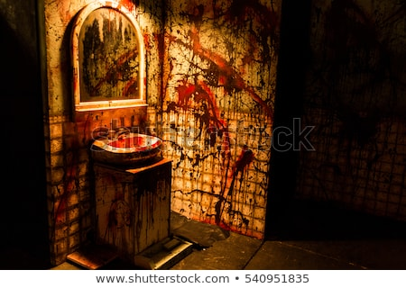 Moord scène wastafel gericht Stockfoto © AlphaBaby