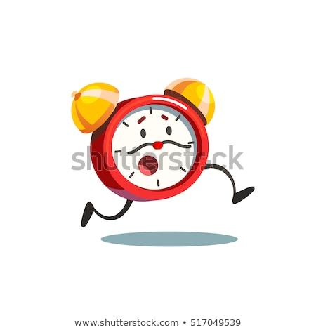 A clock running Stock photo © bluering
