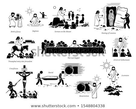 illustration of Resurrection Stock photo © adrenalina