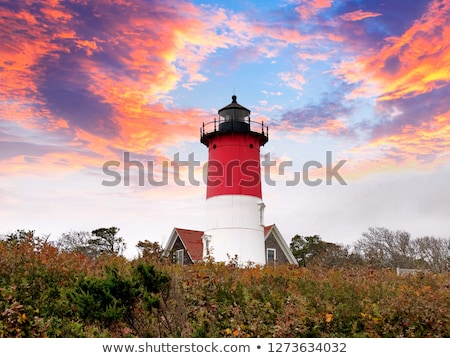 Nauset Light Lighthouse in Eastham, USA Stock photo © CaptureLight