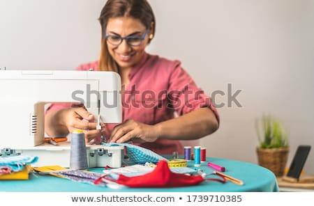 Seamstress Stock photo © racoolstudio