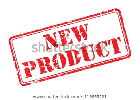 new sign and symbol rubber stamp Stock photo © SArts