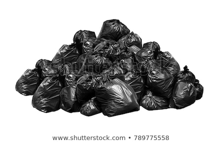 Garbage piles with bags and papers Stock photo © bluering
