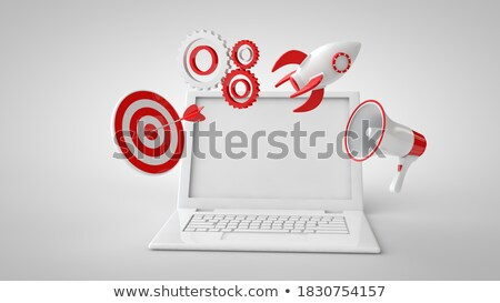 Internet Marketing Optimization Concept. 3D render. Stock photo © tashatuvango