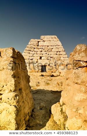 Megaliths in Menorca Stock photo © zhekos