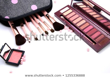 Stock photo: Red Lips Set Collection