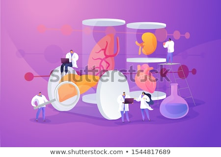 Lab-grown organs concept vector illustration. Stock photo © RAStudio