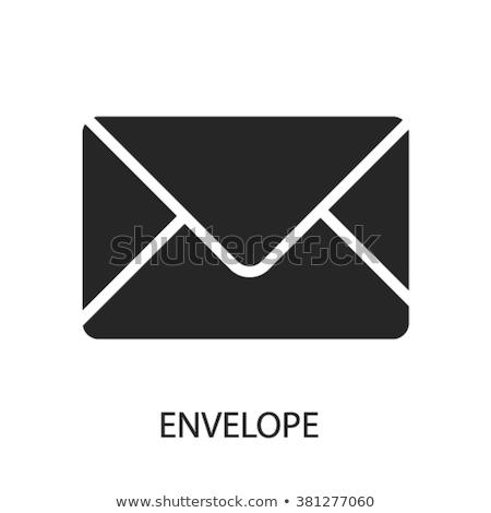 ストックフォト: 封筒 · アイコン · ロゴ · ベクトル · シンボル