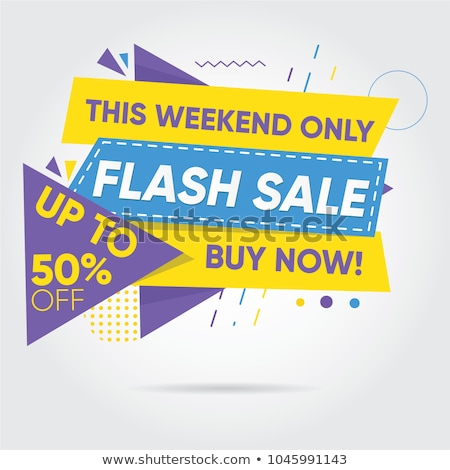 buy now mega discount best offer sale label stock photo © robuart