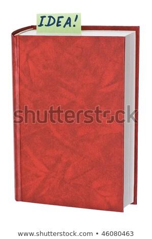 Novo fechado livro espaço Foto stock © OleksandrO