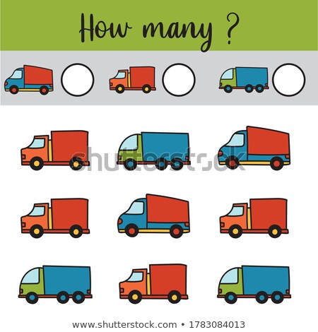 Type of transportation worksheet Stock photo © bluering