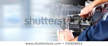 Naprawa samochodów banner dobre szablon reklama eps Zdjęcia stock © netkov1