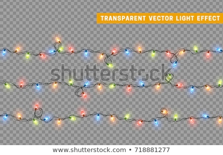 garlands collection on transparent background stock photo © robuart