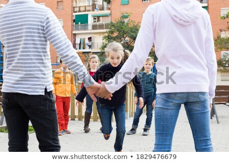 группа друзей счастливым дети школы спортивная команда Сток-фото © matimix