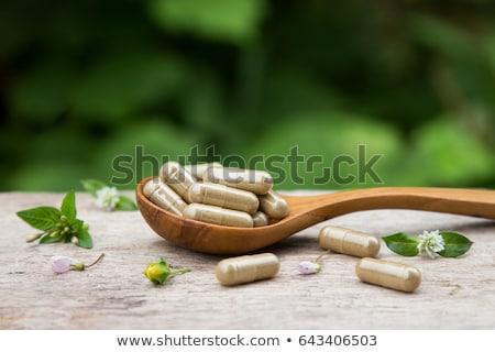 Foto stock: Poder · naturalismo · vitamina · saudável · nutrição