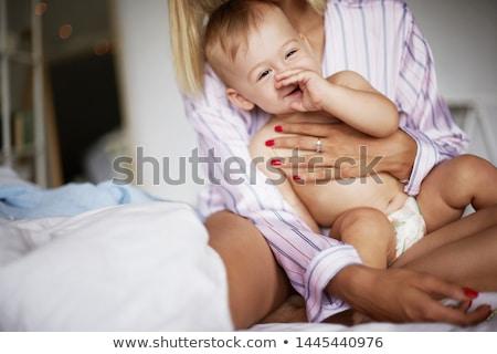 母親 · 赤ちゃん · 少年 · グレー - ストックフォト © lichtmeister