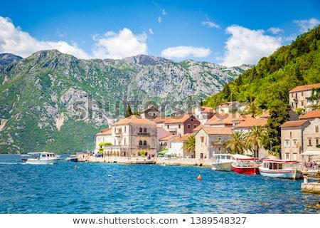 исторический город лет Черногория небе воды Сток-фото © Givaga