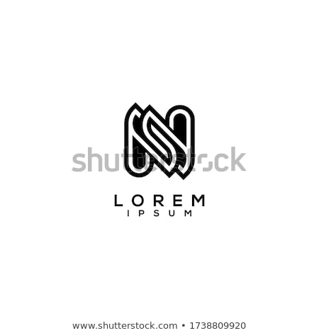 Abstract icons for letter N Stock photo © cidepix