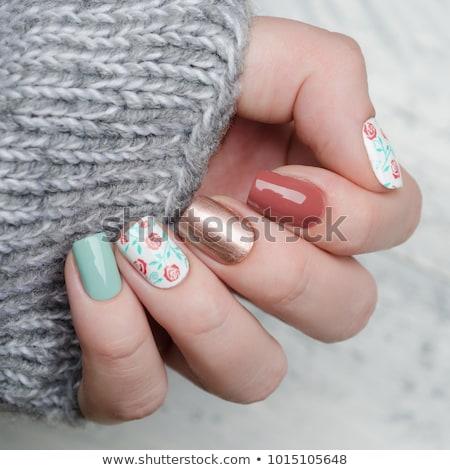 Nagellak flessen cosmetische branding Stockfoto © Anneleven