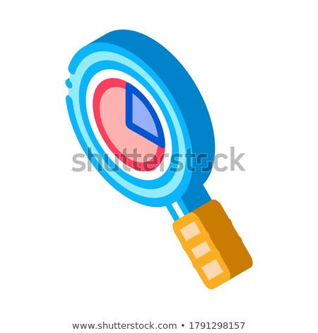 Statistician Market Research isometric icon vector illustration Stock photo © pikepicture