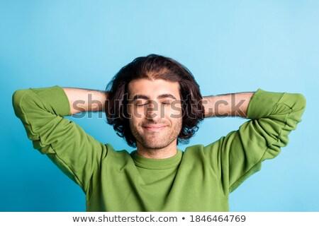 Dreaming guy Stock photo © sapegina