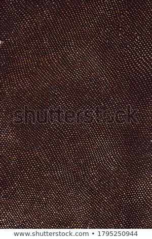 ストックフォト: 黒 · 革 · 表面 · フルフレーム · 抽象的な