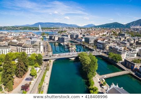 cidade · panorama · Suíça · hdr · belo - foto stock © vladacanon