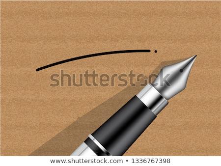 пер · служба · ноутбук · черный · чистой - Сток-фото © inxti