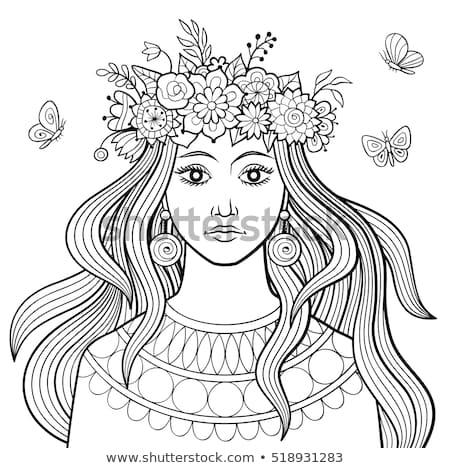 versheid · vrouwelijkheid · schoonheid · portret · vrouw - stockfoto © elmiko