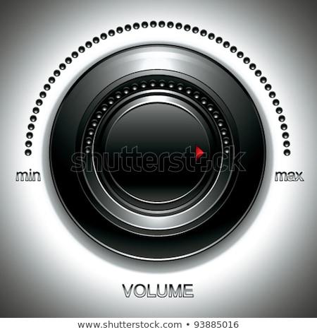 большой черный объем музыку промышленности Сток-фото © Sylverarts