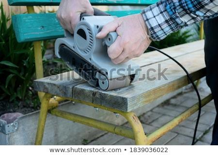 A handyman using a sander Stock photo © photography33