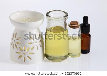 Olaj háttér kék tárgy wellness aromaterápia Stock fotó © Ronen