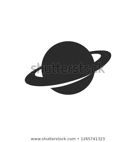 Icon Saturn Stock photo © zzve