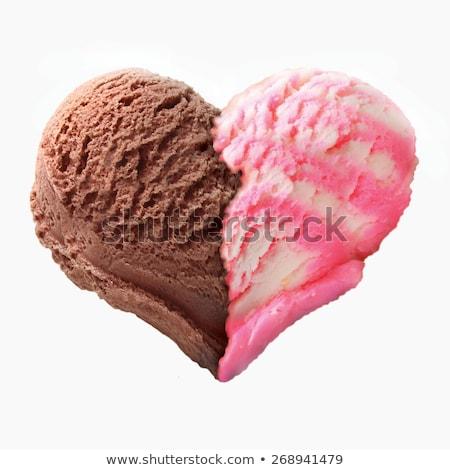 gelato · preparazione · diverso · strumenti · ingredienti - foto d'archivio © doupix