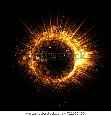 Golden Vortex Stock photo © ArenaCreative